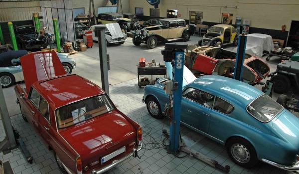 Garage Restauration V 233 Hicules Anciens Nord Pas De Calais